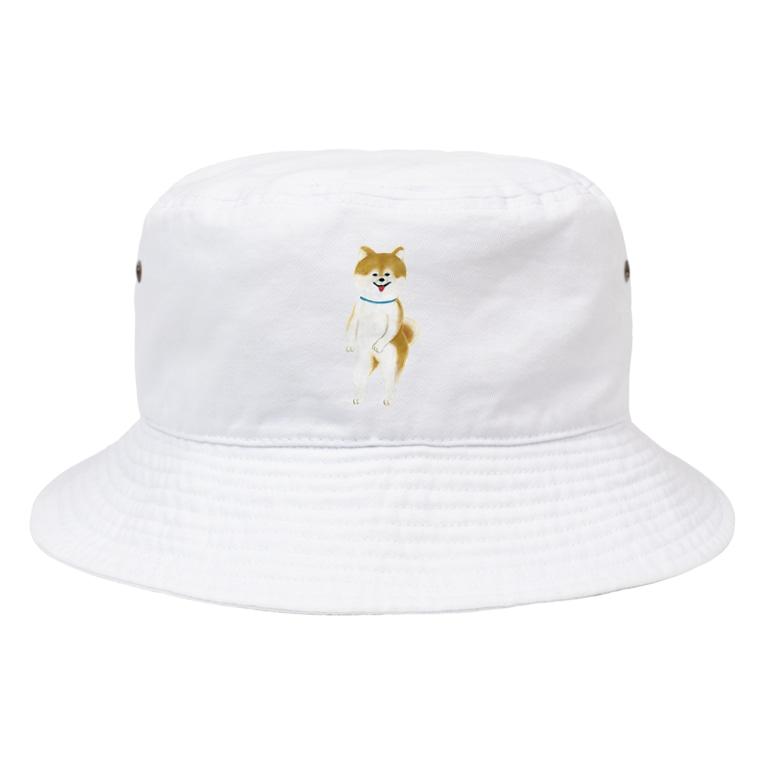 ヘロシナキャメラ売り場のちんころ Bucket Hat