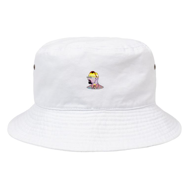 NOHAIRSのピーHAIRSシリーズ Bucket Hat