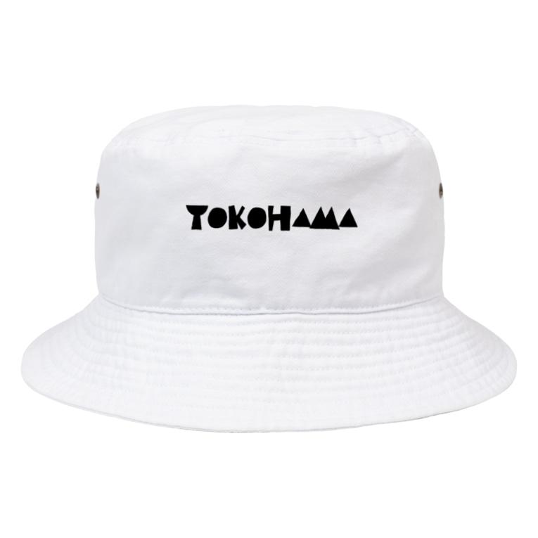 KEN's☆BASEBALL FAN SHOPのYOKOHAMA Bucket Hat