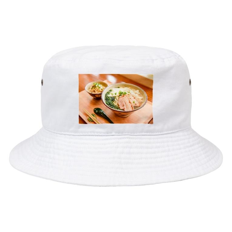 まいにち食堂の生アーサまいにち食堂そば Bucket Hat