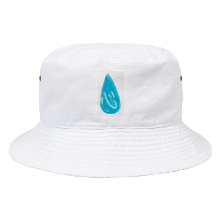 シンプルショップの心涙 Bucket Hat