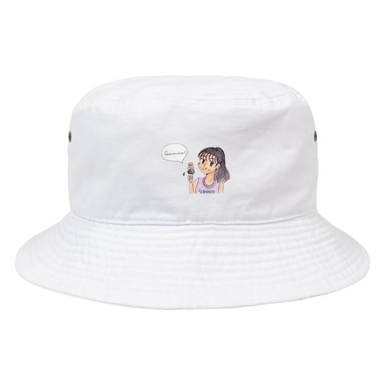 ひよこ工房の一口ちょーだい!! Bucket Hat