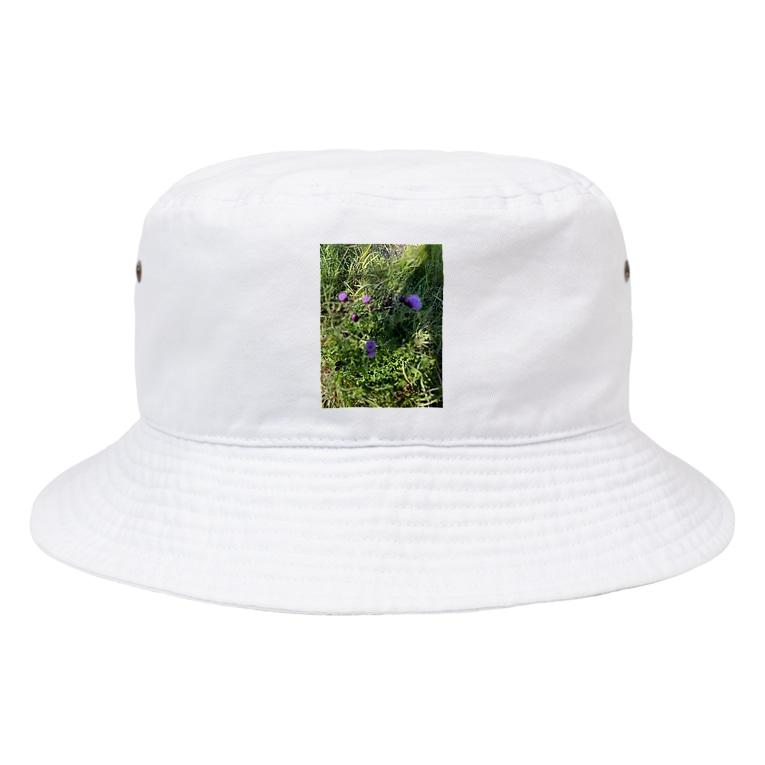 kawachu5のアザミ Bucket Hat
