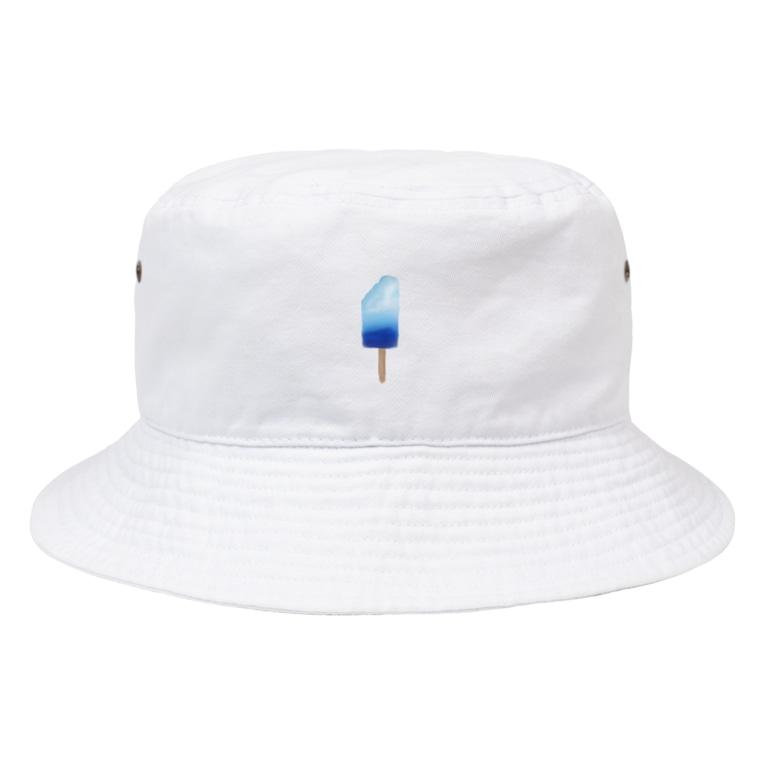 めろんそーだ。の海のアイスキャンディー Bucket Hat