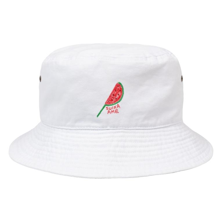 NATSUKO-SHOPのすいか飴☆ Bucket Hat