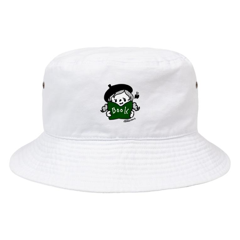 万枚ちゃんのBOOK Bucket Hat
