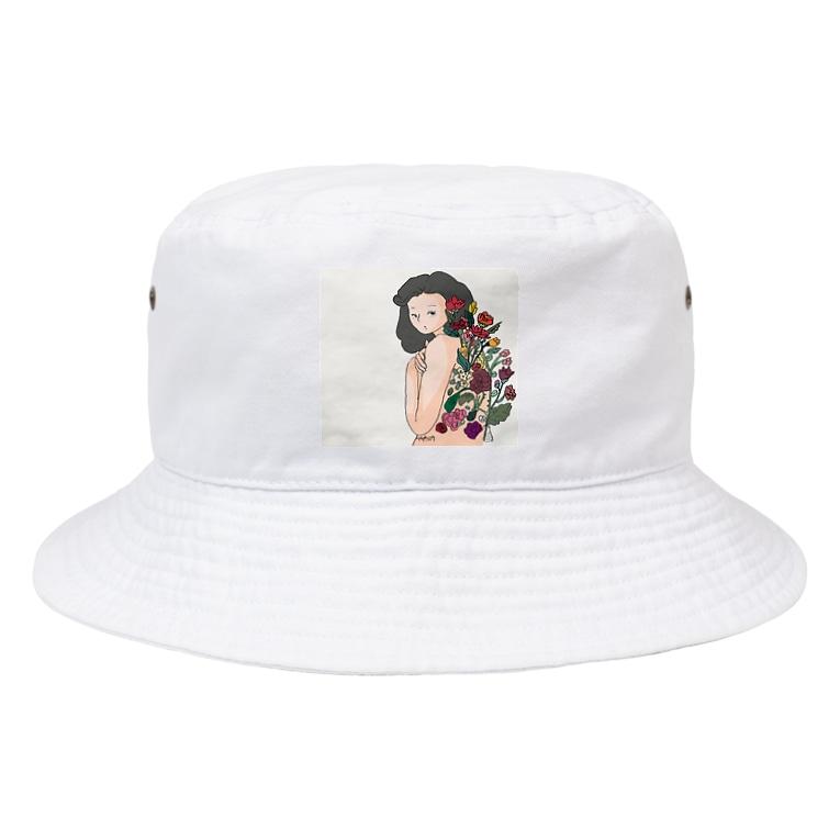 maichogoriのきみのなかにある宇宙 Bucket Hat