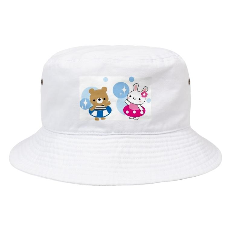 色々雑貨屋さんの子供向け Bucket Hat