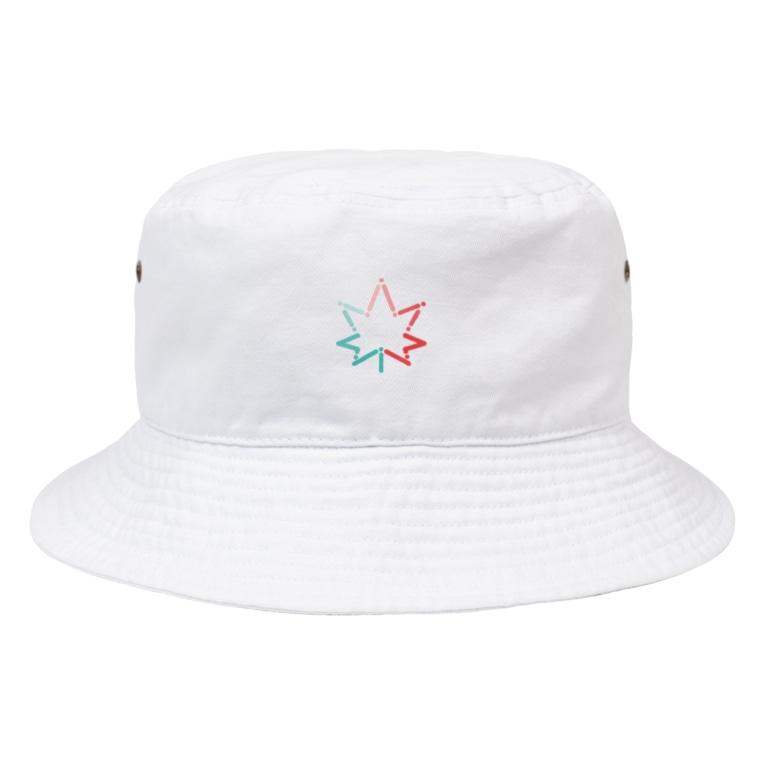 いとめる軒のJapanese Maple Bucket Hat