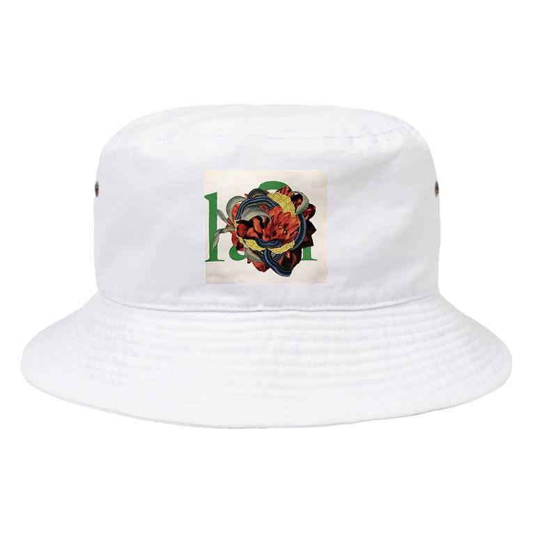 chisacollageのH Bucket Hat