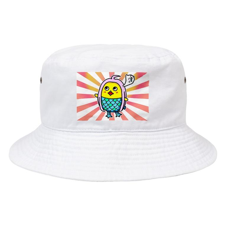 HIYOCO_STUDIOのひよこの祈り② Bucket Hat