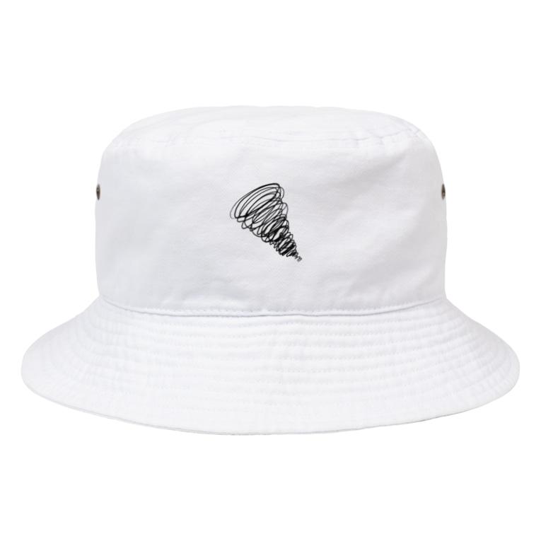 Shihotaru のグルグルする感情 Bucket Hat