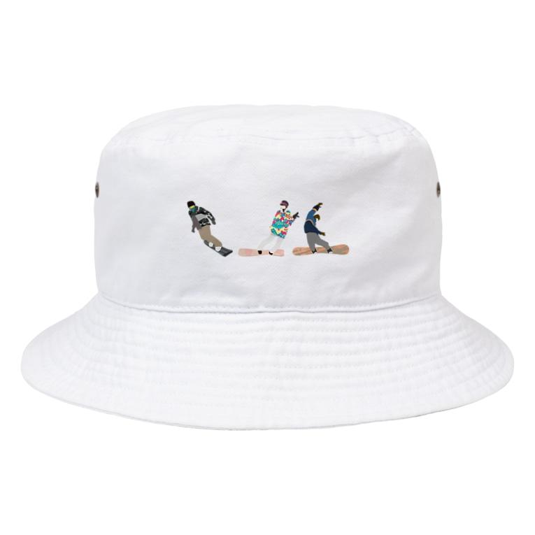 nico&ice storeのSkigelande people Bucket Hat