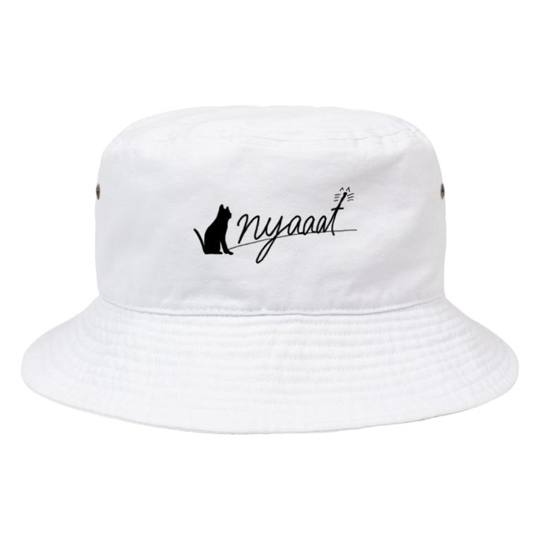 nyaaat公式ショップのnyaaat公式ネコアイテム Bucket Hat