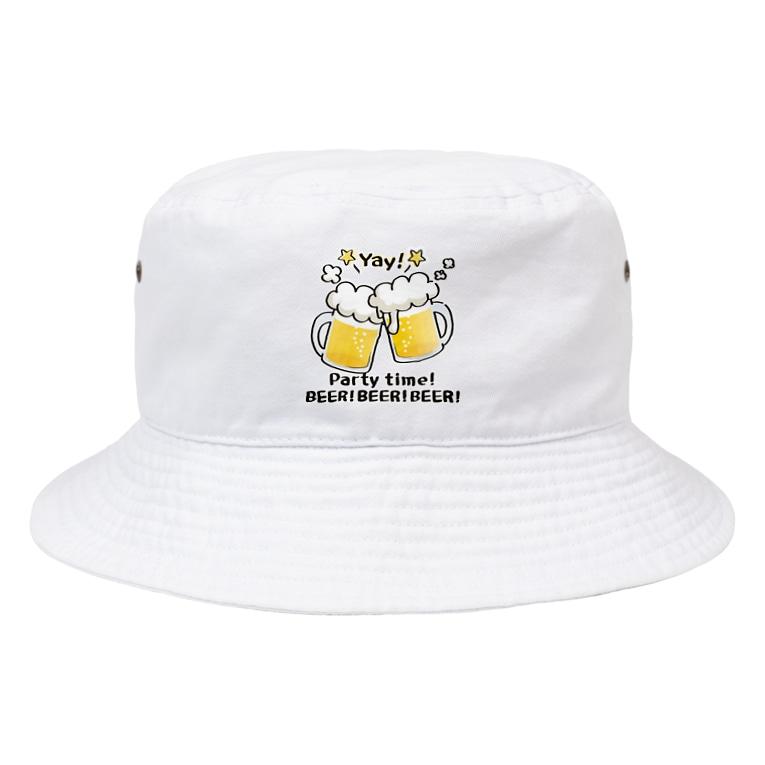 *suzuriDeMonyaa.tag*のCT125 BEER!BEER!BEER! Bucket Hat