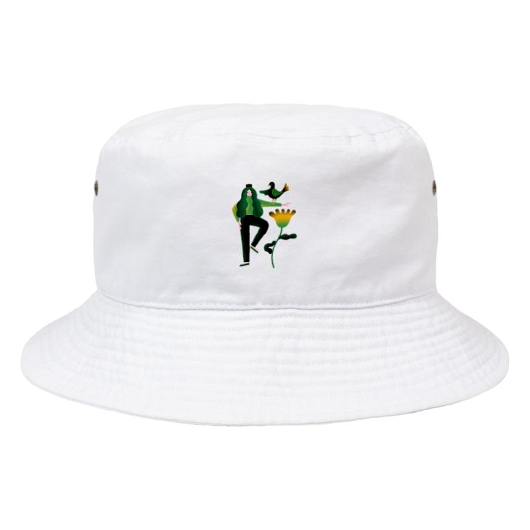 Ran Kobayashiの協調性とシンクロニシティ Bucket Hat
