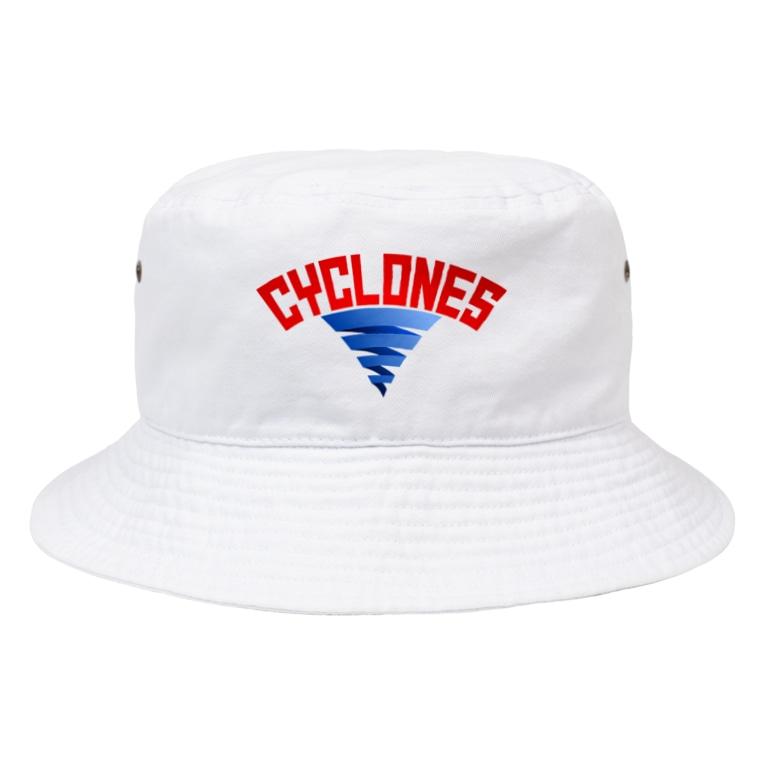 PB.DesignsのPB-サイクロンズ Bucket Hat