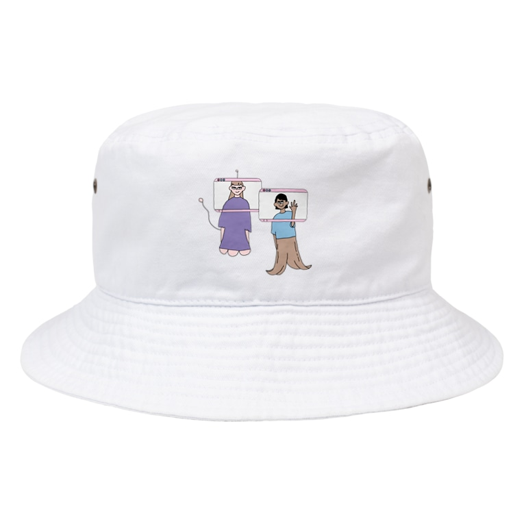 ポノペペのホントの自分 Bucket Hat