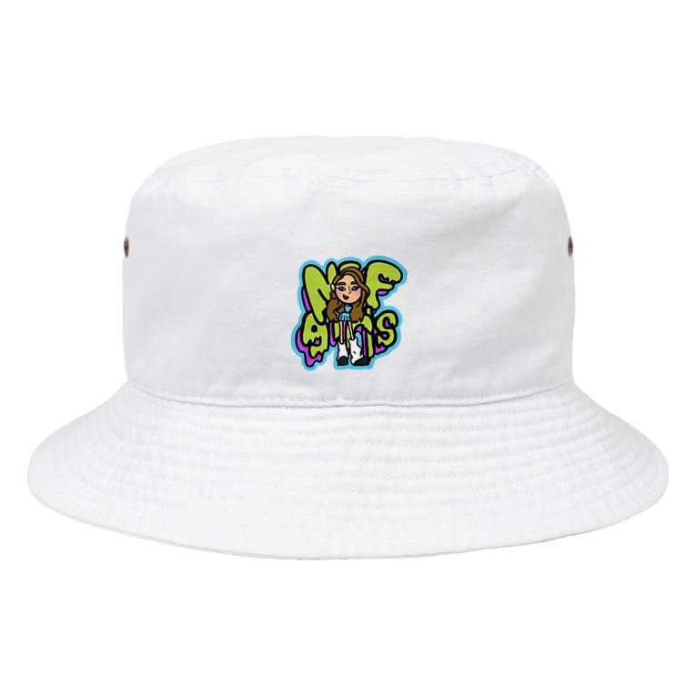 NEF girls.official のNEF girls Miyu Bucket Hat