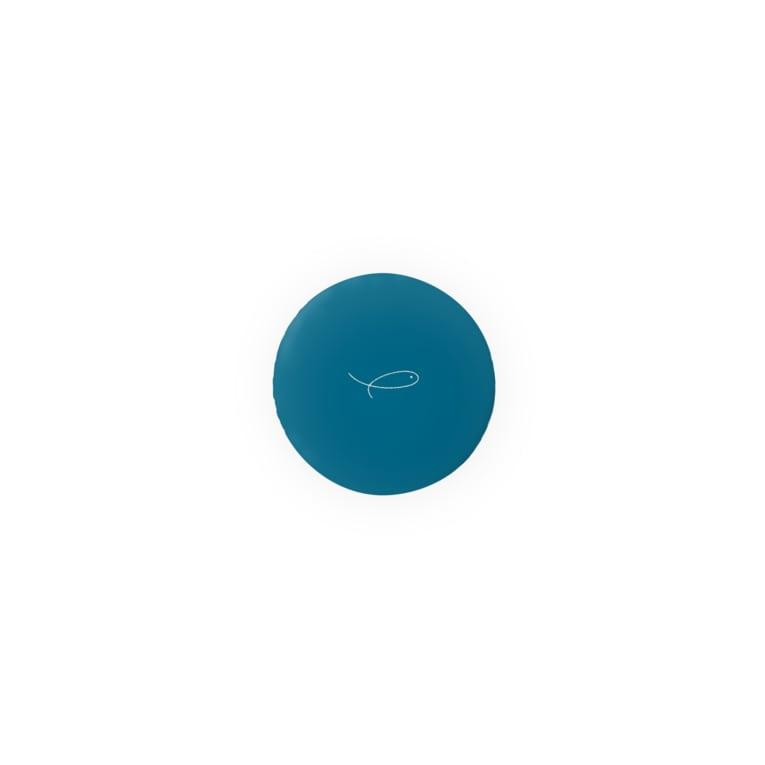 swimmy___のスイミー のおさかな マリンブルー Badges