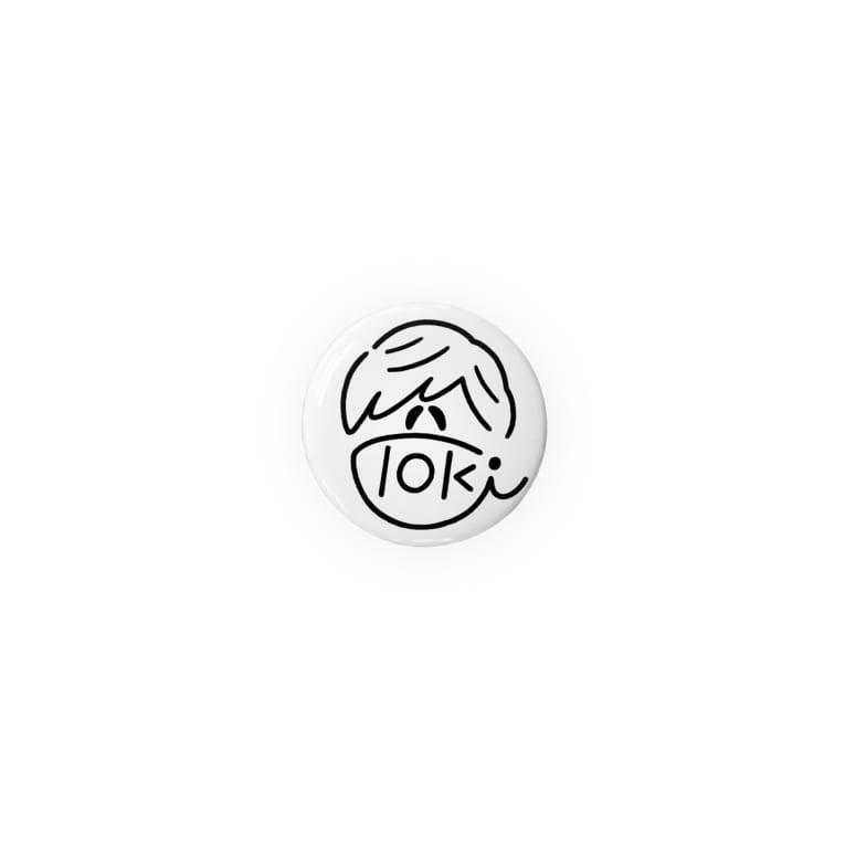 Tokiの独特なセンスの雑貨店のTokiサイン風缶バッジ Badge