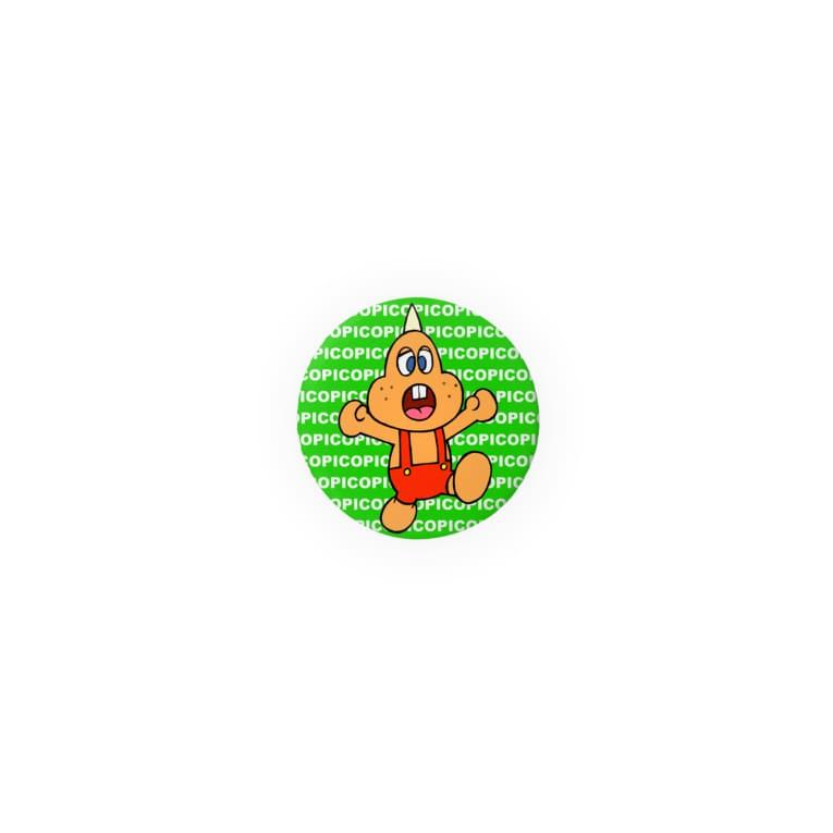 PICOPICOの一角怪獣ツノゴン 子供 Badges