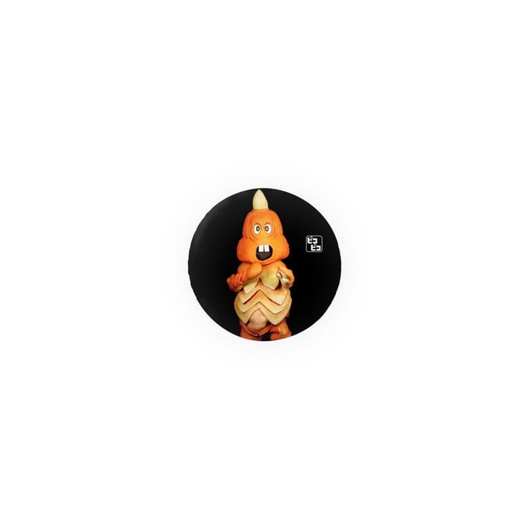 PICOPICOの一角怪獣ツノゴン Badges