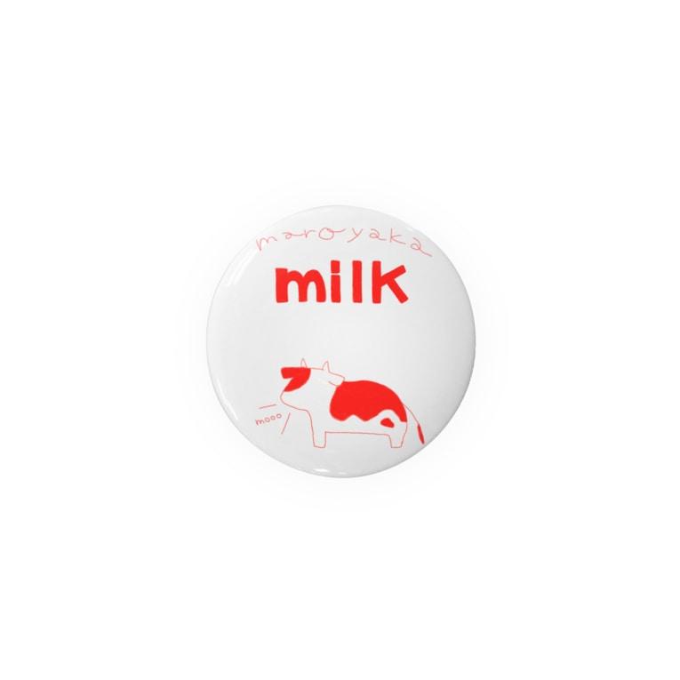 ようなのmilk red Tin Badge