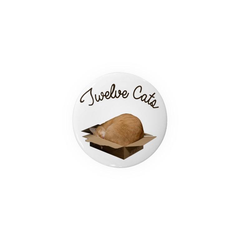 Twelve Catsの住めば都 Badges