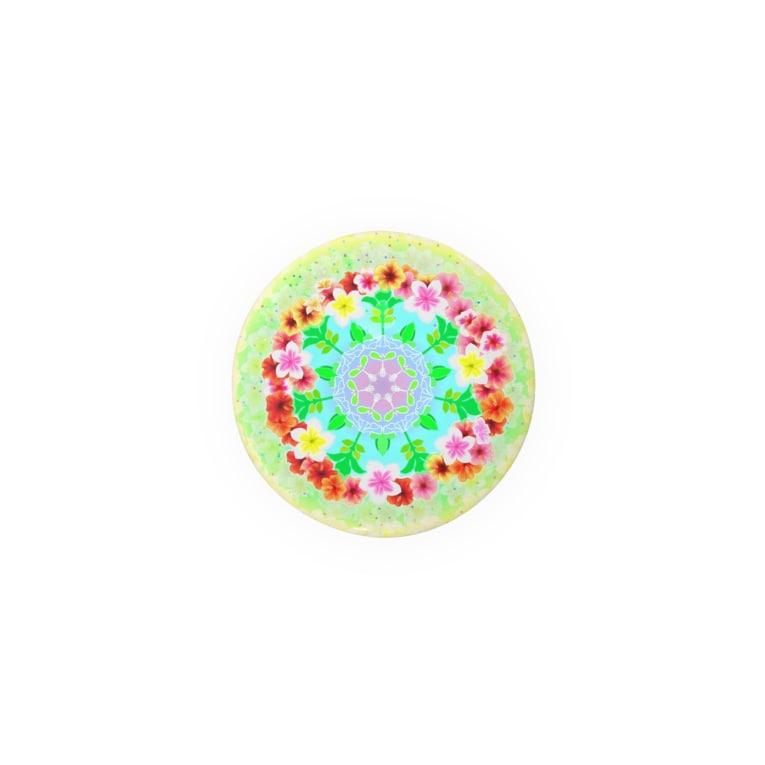 福猫の花壇の花曼荼羅 Badges
