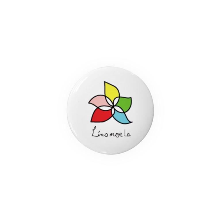 Linomoelaのリノモエラ ロゴ Badges