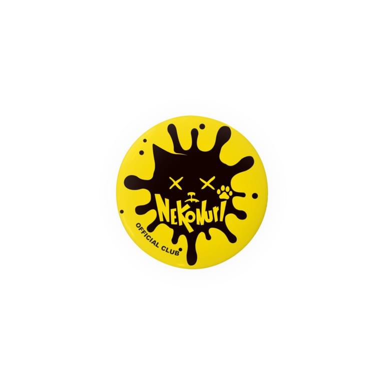 ネコヌリSHOPのネコヌリ オフィシャルロゴ 缶バッジ Badges