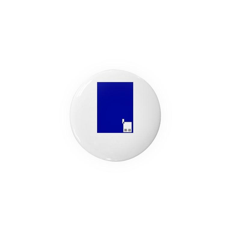 Sorapolice_pinopoliceのショップQR×ブルー Badges