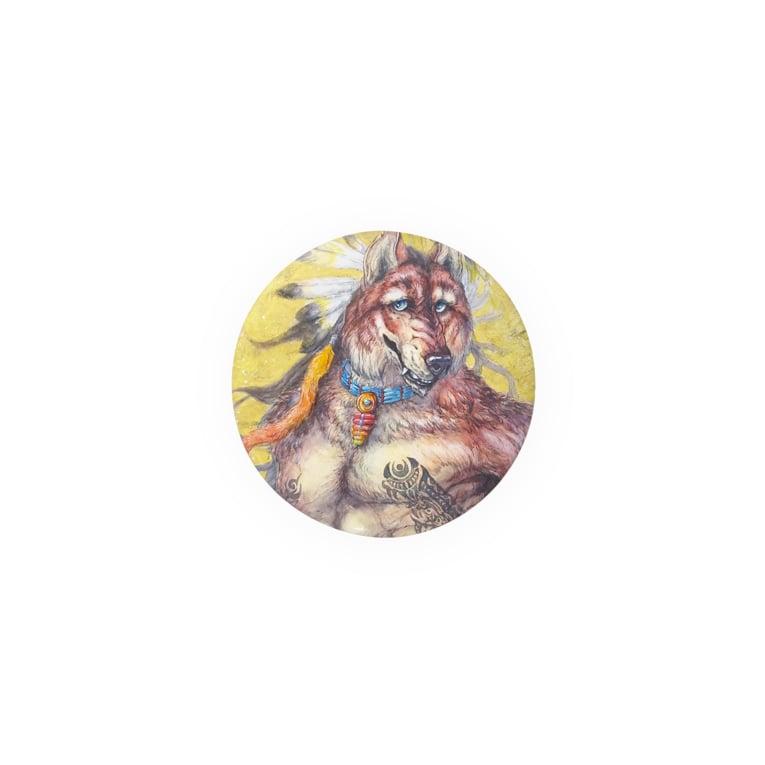 TERRA Shop/前田陸のインディアンウルフ Badges