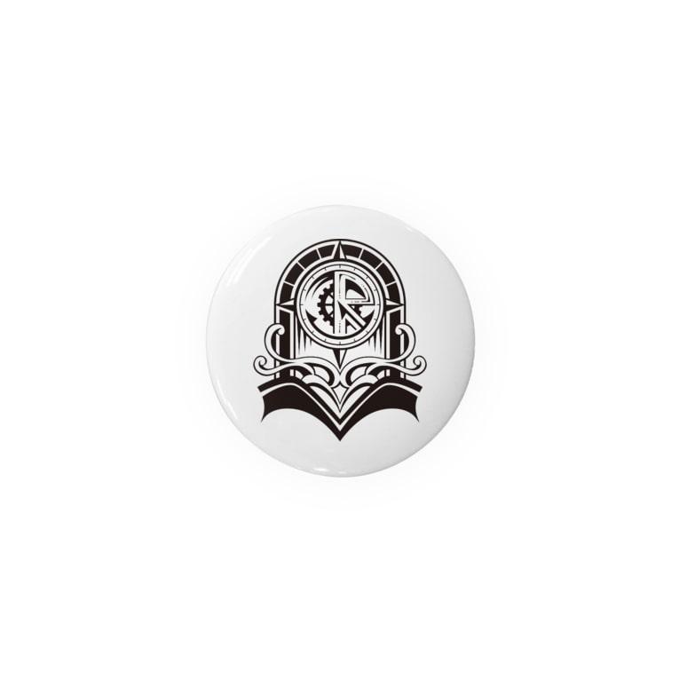 オリィの自由研究部(β)の【44mm推奨】オリィ部ロゴ缶バッジ Badges