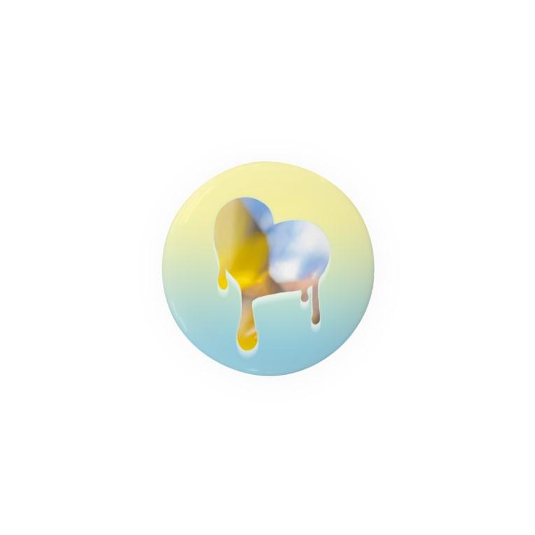 ぐんじさんの。のmelting heart, summer - 02 Badge