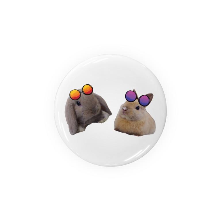 うさぎのメルココのサマータイムラビット Badges