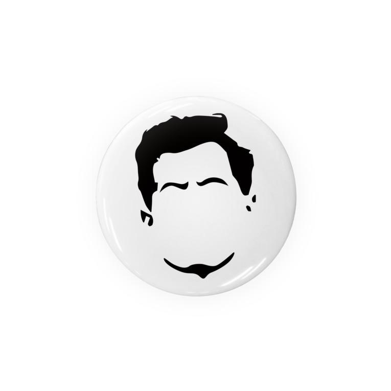 管理人さんのウィトゲンシュタイン×缶バッチ Badges