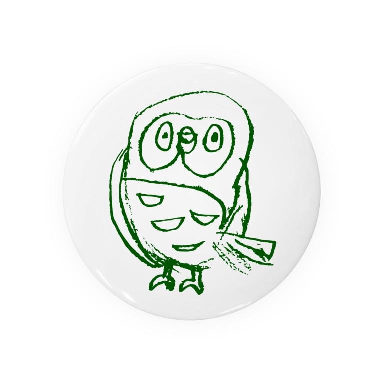 toritoのtorito・ふくろうグッズ Badges