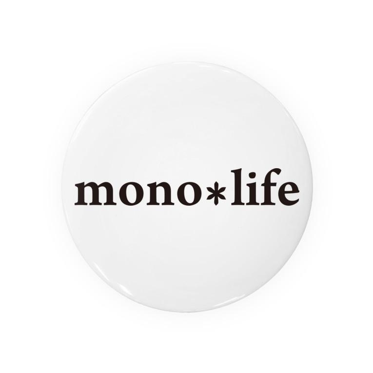 キャンプバカヤロウのmono*life Tin Badge
