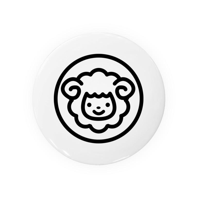 smilesheep公式グッズショップのsmilesheepグッズ Badges