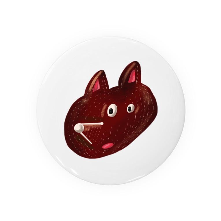 Tania NobukovskiのHEY BEAR FACE Badges