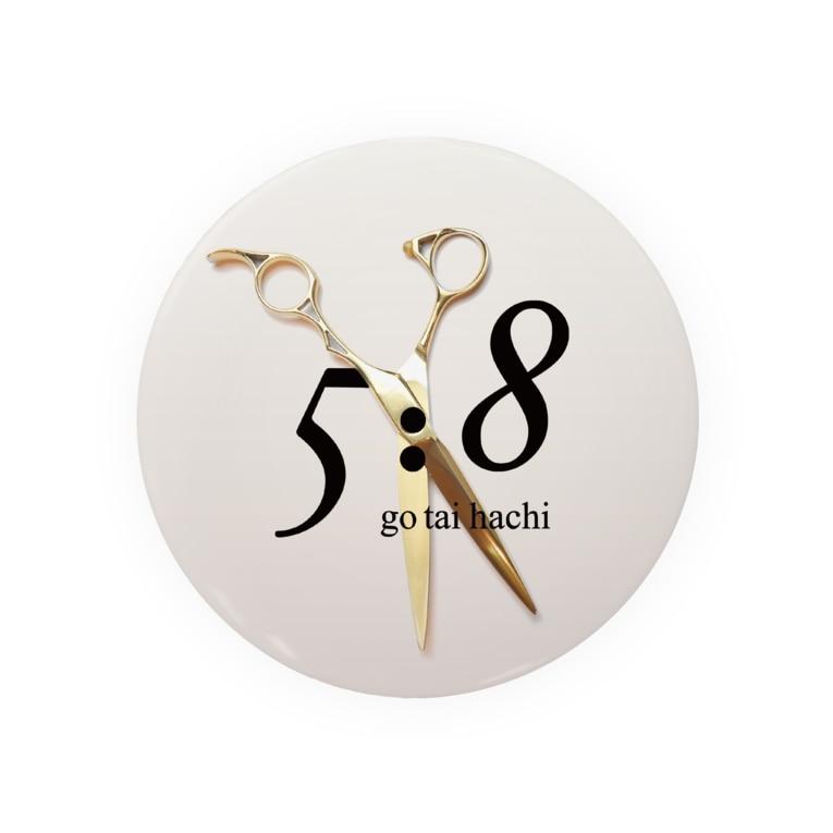 5:8 gotaihachiの5:8 Badges