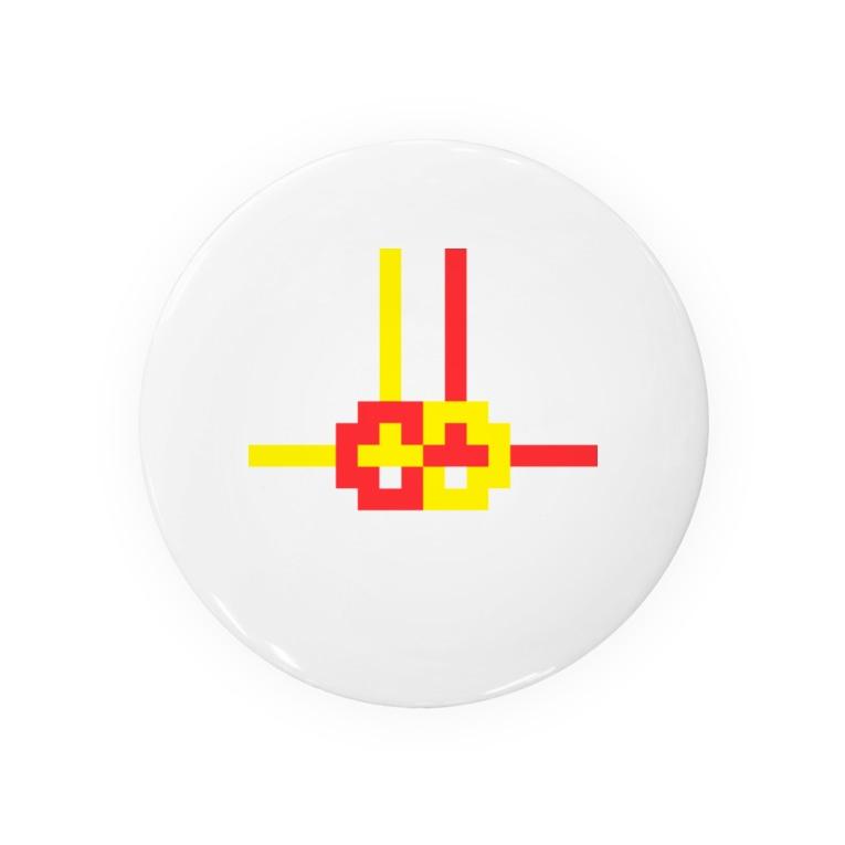 コトブキヒサシ/寿寿のドット水引(あわじ結び) Badges