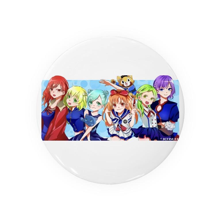 momotakaizokudanのもも太海賊団 女子メンバー Badges