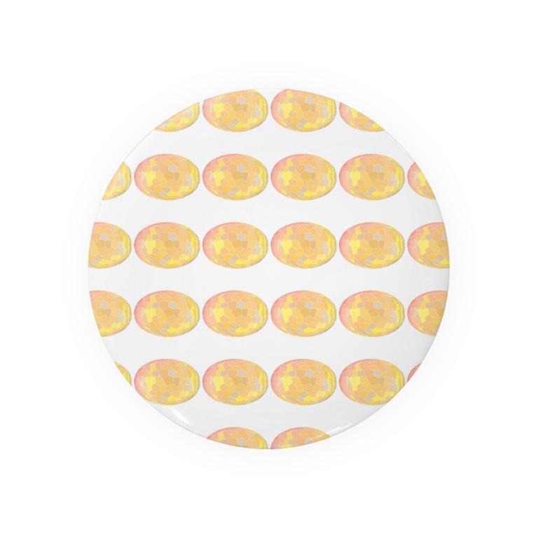 水草のスーパーオレンジ玉 Badges