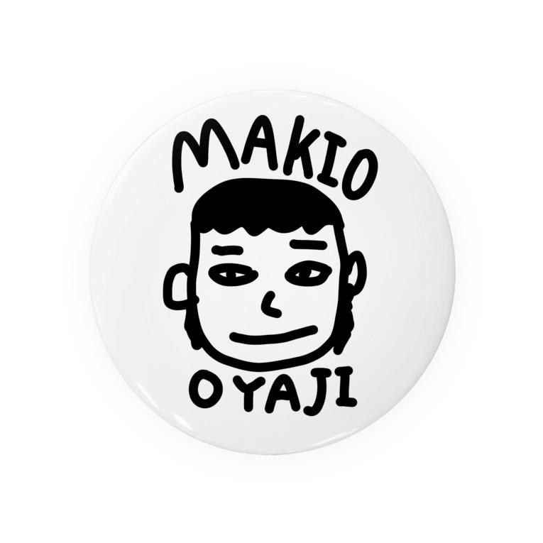文字のシンプルなグッズのOYAJI Badges