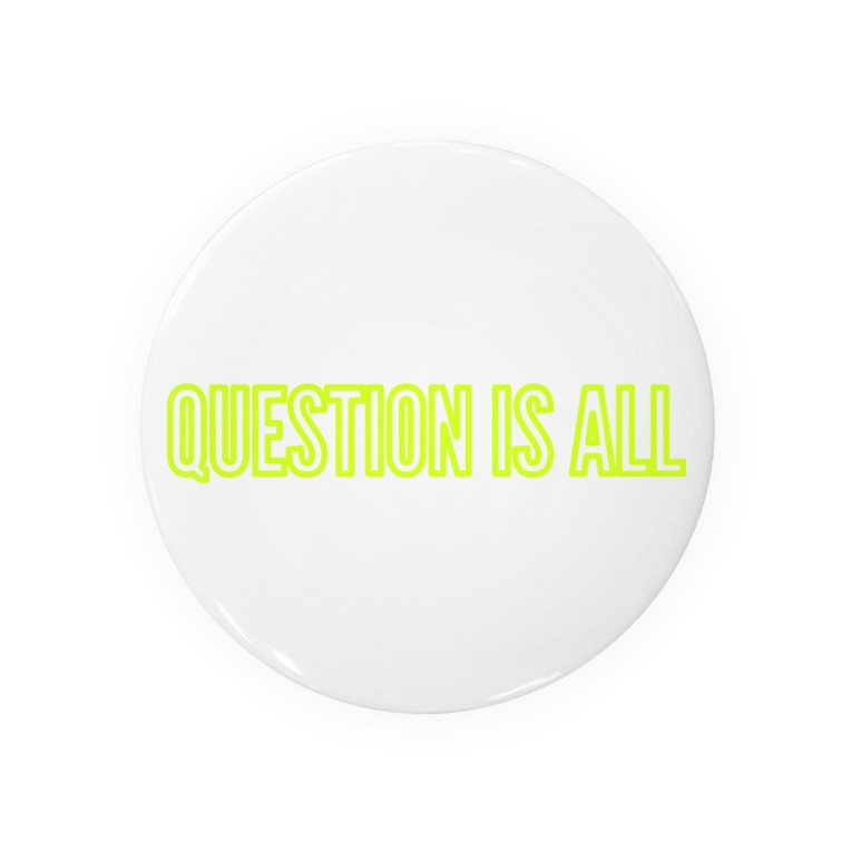QUESTIONMARKのQUESTION IS ALL Badges