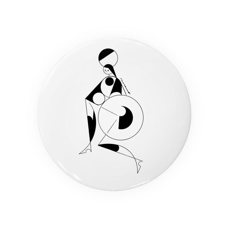 akira muraccoのcircus_black Badges