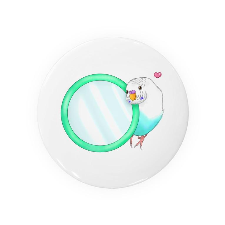 Lily bird(о´∀`о)の鏡大好きピーコちゃん① Badges